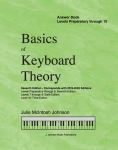 Basics of Keyboard Theory Answer Book, Levels Preparatory through 10