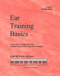 Ear Training Basics, Level 1 Student Book & CD