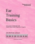 Ear Training Basics, Preparatory Level Student Book & CD