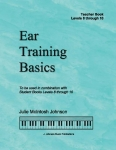 Ear Training Basics, Levels 8-10 Teacher Book
